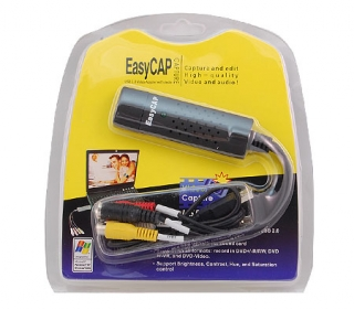 EasyCap USB video grabber retail balení