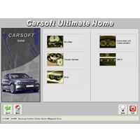 Carsoft Ultimate Home pro Mercedes a Sprinter